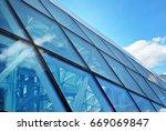 modern building.modern office... | Shutterstock . vector #669069847