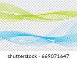 abstract waves ideas design... | Shutterstock .eps vector #669071647