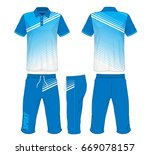 sport suit fashion set isolated.   Shutterstock .eps vector #669078157