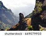 pico do arieiro. madeira... | Shutterstock . vector #669079933