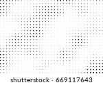 abstract halftone dotted... | Shutterstock .eps vector #669117643