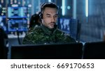 close up shot of military... | Shutterstock . vector #669170653