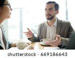 confident businessman... | Shutterstock . vector #669186643