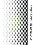 dark green modern geometrical... | Shutterstock . vector #669193633