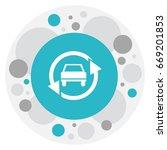 vector illustration of vehicle... | Shutterstock .eps vector #669201853
