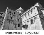 pisa duomo  entitled to santa...   Shutterstock . vector #66920533