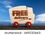 free delivery van icon ...
