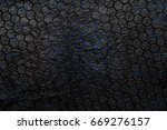 tech abstract hexagon... | Shutterstock . vector #669276157