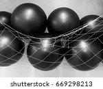 Small photo of Gym ball, abdominal wall hanging