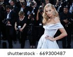 cannes  france   may 24  elsa... | Shutterstock . vector #669300487