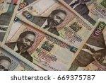 Banknotes Of Kenya Of Differen...