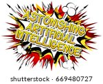 astonishing artificial... | Shutterstock .eps vector #669480727