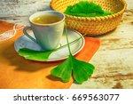 Healing Ginkgo Biloba Tea