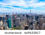 Aerial View Of North Manhattan...