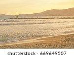 palma de mallorca  balearic... | Shutterstock . vector #669649507