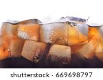 soda  cola  cold drink. | Shutterstock . vector #669698797