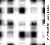 abstract halftone dotted... | Shutterstock .eps vector #669715303