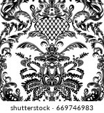 paisley traditional pattern. | Shutterstock . vector #669746983