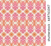 seamless colorful pattern for... | Shutterstock . vector #669761047