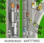 original filename  top view... | Shutterstock .eps vector #669777853