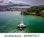 llanduno pier wales | Shutterstock . vector #669807517