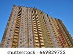 building construction | Shutterstock . vector #669829723
