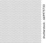 honeycomb seamless illustration | Shutterstock .eps vector #669975733