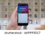 chiang mai  thailand   july 1... | Shutterstock . vector #669995017