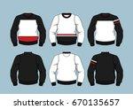 sweaters 2 | Shutterstock .eps vector #670135657