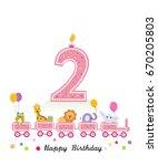Happy Second Birthday Girl...