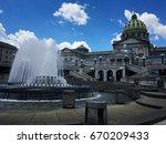 pennsylvania state capitol... | Shutterstock . vector #670209433