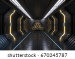 science background fiction...   Shutterstock . vector #670245787