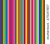 seamless colorful striped... | Shutterstock .eps vector #670247857