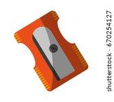 school supply icon image  | Shutterstock .eps vector #670254127
