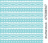 blue seamless pattern with... | Shutterstock .eps vector #670288567