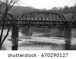 Old Railroad Bridge Over...