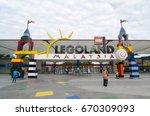 legoland malaysia. july 1 2017. ... | Shutterstock . vector #670309093