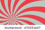 pink horizontal popart comic... | Shutterstock .eps vector #670331647