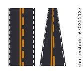 road elements street transport... | Shutterstock .eps vector #670355137