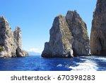 three famous giant rocks...   Shutterstock . vector #670398283