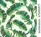 seamless watercolor... | Shutterstock .eps vector #670400977