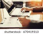 administrator business man... | Shutterstock . vector #670419313