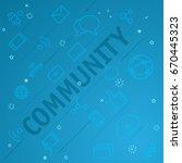 community concept. different...