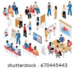 business education and coaching ... | Shutterstock .eps vector #670445443