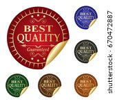 best quality. | Shutterstock .eps vector #670472887