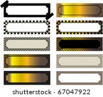 group of labels of different... | Shutterstock .eps vector #67047922