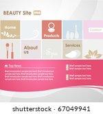vector website design template   Shutterstock .eps vector #67049941