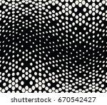 hexagon halftone gradient... | Shutterstock .eps vector #670542427