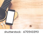 phone mobile showing screen on... | Shutterstock . vector #670543393