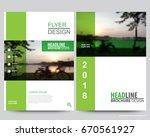 abstract vector modern flyers...   Shutterstock .eps vector #670561927